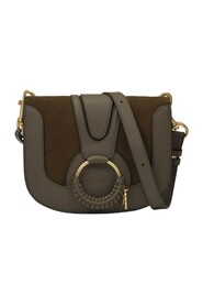 Hana Small Bag in Moss Leather