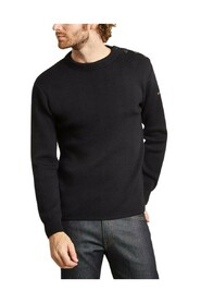 Fouesnant plain marine sweater