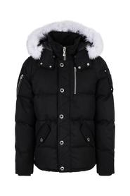 Moose Knuckles 3Q Jacket Mens Black with White Fur Dunjakke