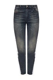 'Babhila-High-Sp' Side Stripe Jeans
