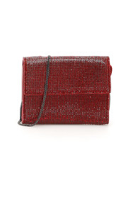 Crystal wallet with chain