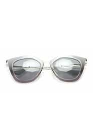 Pre-owned  Tinted Roung Sunglasses Silver