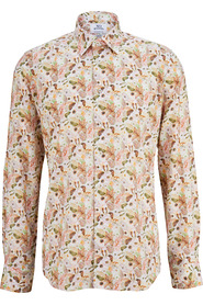 Hemd mit floralem
