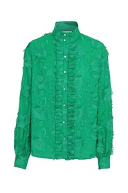 Etta Blouse - Evergreen