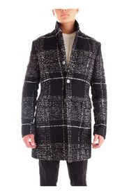 PATRIZIA PEPE 5S0676/A5V5 Overcoat Men BLACK