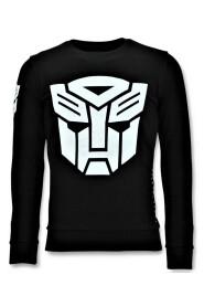 Sweatshirt Transformers Print