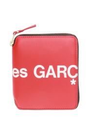 Reißverschluss um Brieftasche