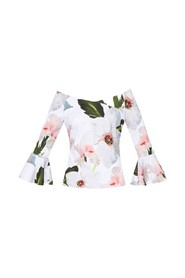 Ted Baker - Veleita off-shoulder bloemen top