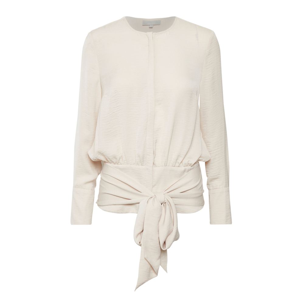 Magritte Tie Blouse