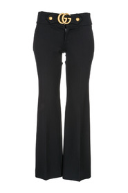 women's trousers pants doppia g