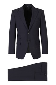 Straight Wool Suit