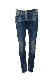 Jewelly Baggy Jeans med Knappar