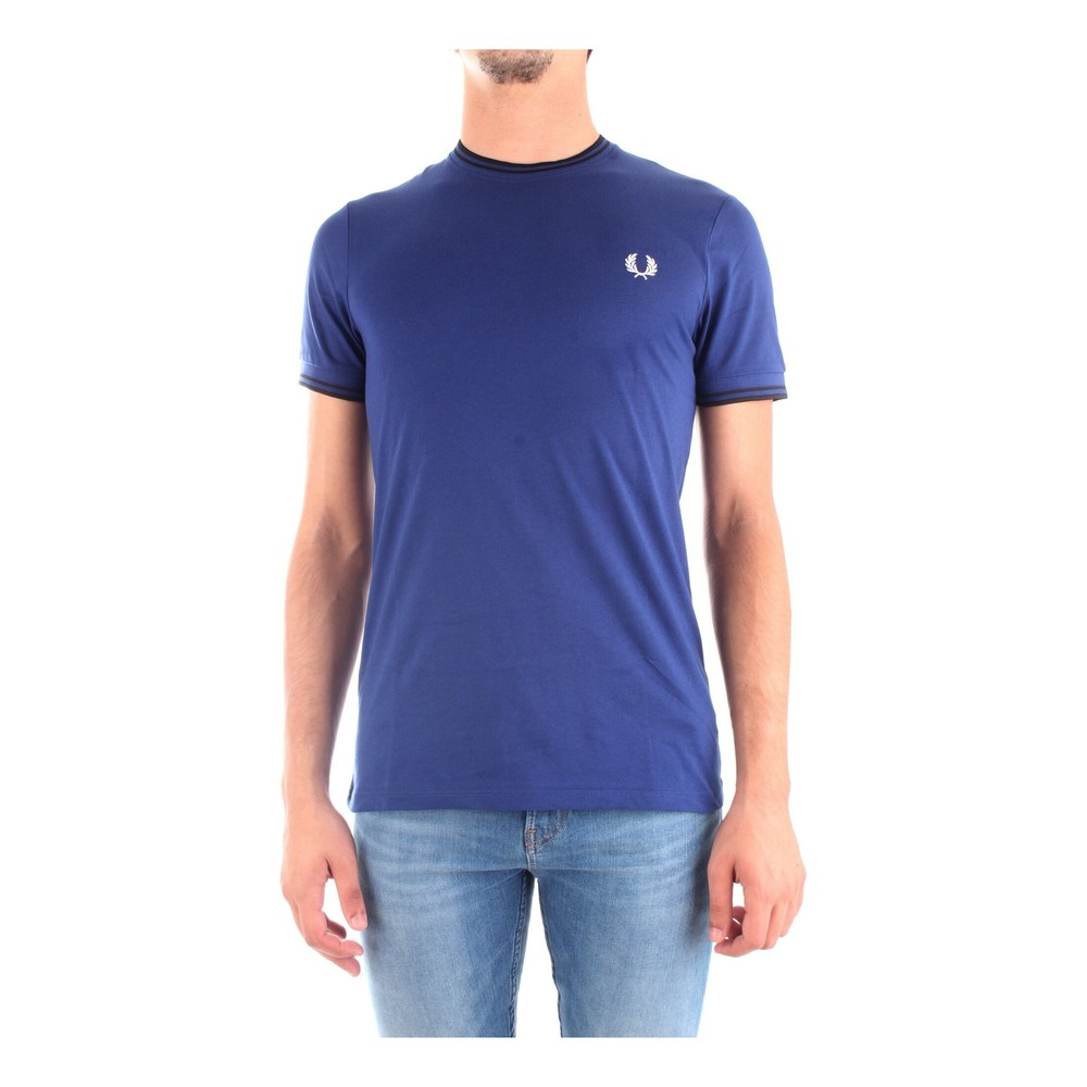 FRED PERRY M1588 T SHIRT Men BLUE