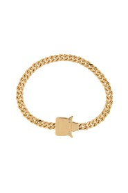 CUBIX CHAIN NECKLACE W/ FIXED