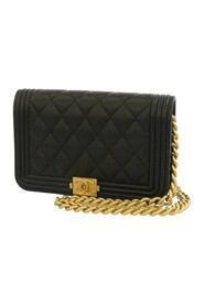 Pre-owned Boy Caviar Leather Flap Bag