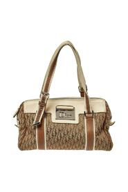 Pre-owned Oblique Canvas and Leather Street Chic Boston Bag