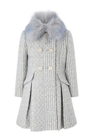 Sparkle Tweed Coat Outerwear