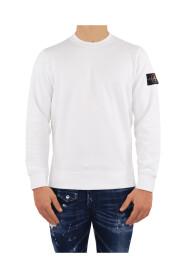 Sweatshirt med rund hals