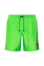 Swim shorts with logo