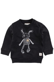 Small Rags - Sweatshirt, Hubert (60760) - Caviar