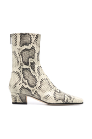 CITY ANKLE BOOT PRINTED PYTHON