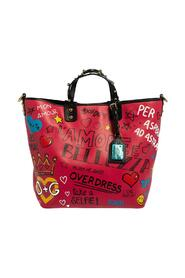 Graffiti Leather Beatrice Studed Tote