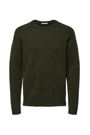 Knitted Pullover O neck
