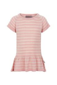 Creamie - Pullover SS Striped (820611) - Rose Smoke