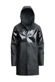 Striped Stockholm Raincoat