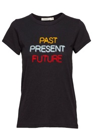 Sort Rag & Bone Past Present Future T-Shirt