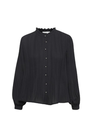 Tulle pleated shirt