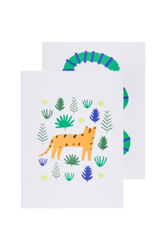 'Jungle' walldecoration - 2pcs.