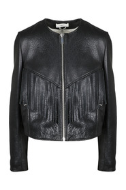 FRINGES LEATHER JACKET