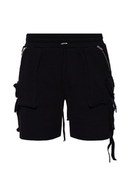 Shorts with numerous pockets