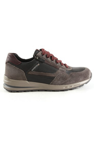 antraciet Mephisto Bradley Dark Grey veterschoenen