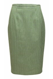 Collection Gingham Pencil Skirt