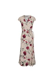 Yui rose wrap dress