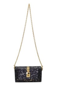 Plexiglass Taormina Lace Clutch Bag BOX