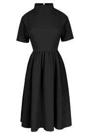 Sukienka ze stójką