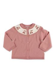 knit wool cardigan