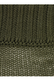 MEMBRANE RIBBED TURTLE NECK SWEATER