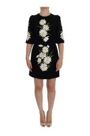 Kamomill Print Wool Stretch klänning