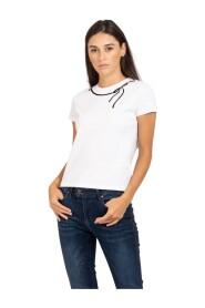T-shirt Con Fiocco Disegnato