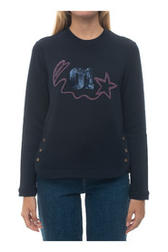RIMMEL-3881 Sweatshirt with buttons
