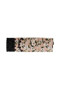 Silk Floral Lace Scarf