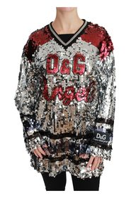 Sequined D&G Angel Blouse