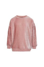 Creamie - Sweatshirt Velvet Plissé (820870) - Rose Dusty