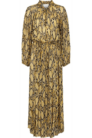 Second Female Snake Ls Maxi Dress