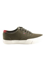 Lace-up shoes core oxford twill sneaker
