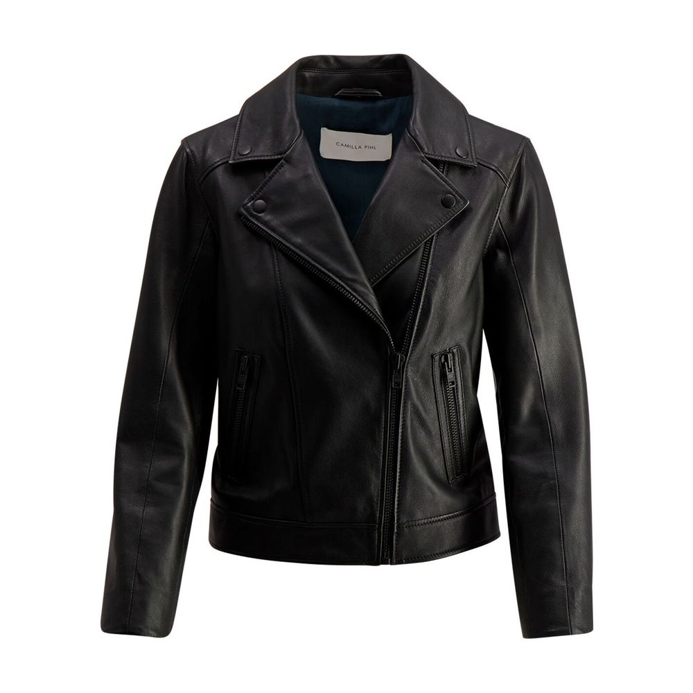 Black City Leather Jacket | Camilla Pihl | Skinnjakker